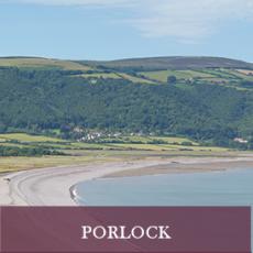 Pretty village of Porlock