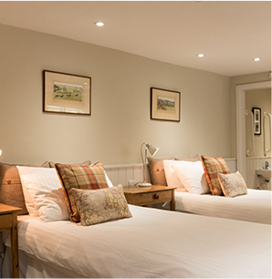 Lovely twin room with comfortable beds