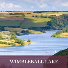 Stunning view of Wimbleball Lake